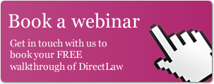 Book a webinar about DirectLaw